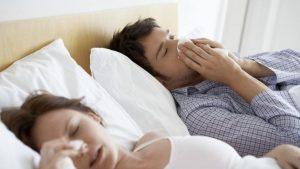 Заложенный нос во время секса